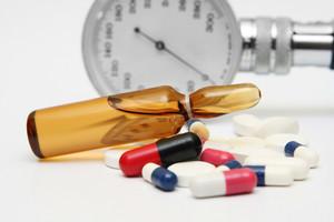 Pills And Medicine Vial
