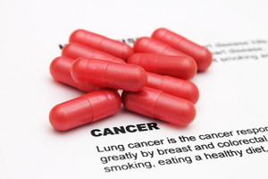 Pills On Cancer Text