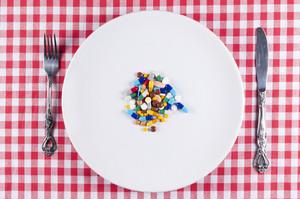 Pills On Plate