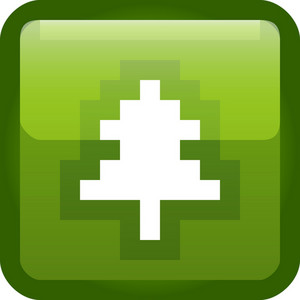 Pine Tree Green Tiny App Icon
