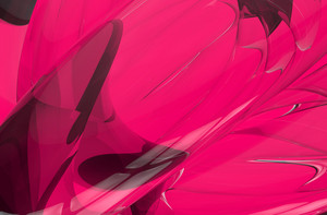 Pink 3d Abstract