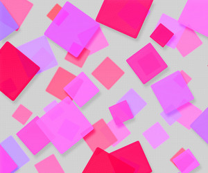 Pink Abstract Squares Background