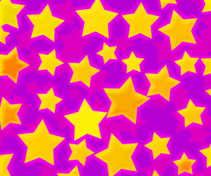Pink Abstract Stars Background