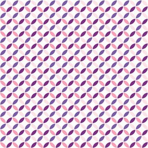 Pink And Purple Circles Pattern