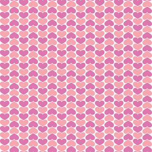 Pink And Purple Hearts Pattern
