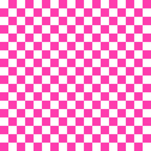 Pink And White Checkerboard Pattern