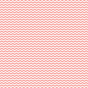 Pink And White Chevron Pattern On Hot Air Balloon Paper