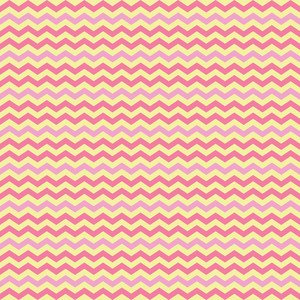 Pink And Yellow Chevron Pattern