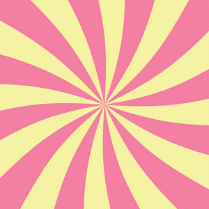 Pink And Yellow Swirls Pattern