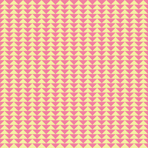 Pink And Yellow Triangles Pattern