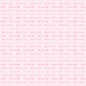 Pink Arrows Pattern