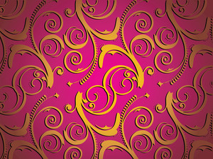 Pink Artistic Creation Wallpaper