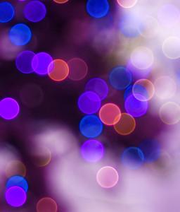 Pink Blur Bubbles