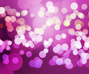 Pink Clear Bokeh Background