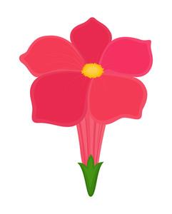 Pink Daisy Shape Element