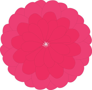Pink Daisy Vector