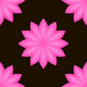 Pink Decor Flower Background