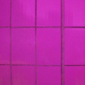 Pink Glass Exterior Wall