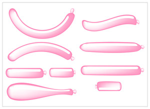 Pink Glossy Balloons Collection