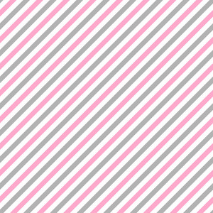 Pink, Grey, And White Diagonal Stripes Pattern