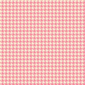 Pink Houndstooth Pattern
