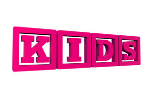 Pink Kids Blocks