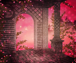 Pink Palace Interior Background