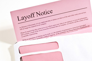 Pink Slip Layoff Notice