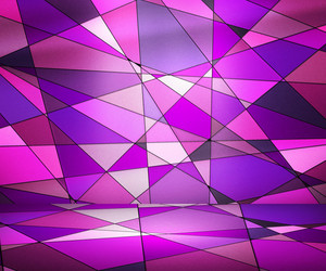 Pink Spotlight Abstract Background