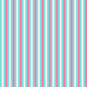 Pink, White, And Turquoise Striped Pattern