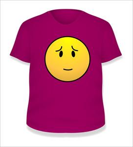Pink White T-shirt Design Vector Illustration Template