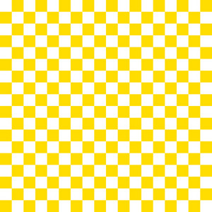 Yellow And White Checkerboard Pattern