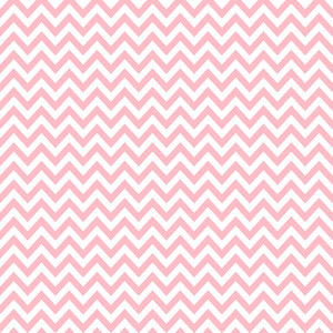 Pink And White Chevron Pattern