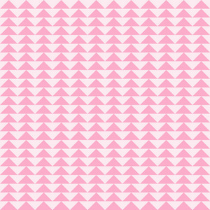 Pink Triangles Pattern