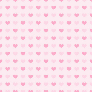 Pink Hearts Pattern