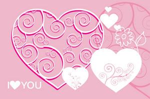 Pinky Vector Hearts
