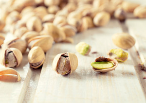 Pistachios Close Up