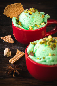 Pistachios Ice Cream