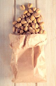 Pistachios In Bag