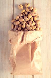 Pistachios In Bag