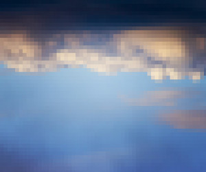 Pixel Sky Background