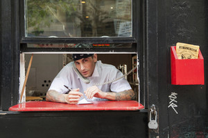Pizza place operator