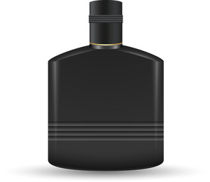 Plack Plastic Bottle