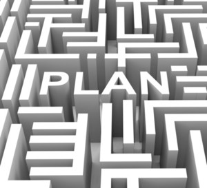 Plan Word Shows Guidance Or Business Planning