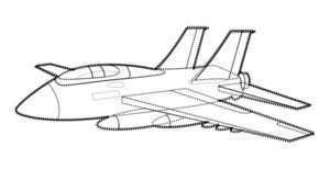 Plane Vector Design