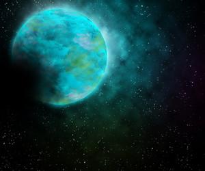 Planet Universe Background