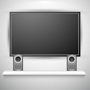 Plasma Tv With Speakers