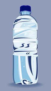 Plastic Water Bottle Container