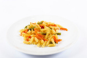 Plate And Pasta