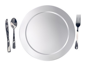 Plate And Silverware
